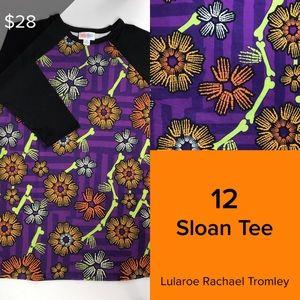 Lularoe Halloween Sloan Tee size 12